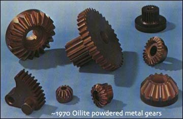 oilite powdered metal gears