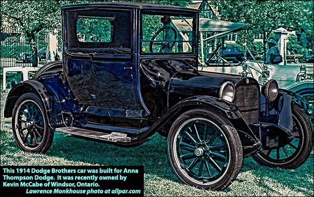 1914 Dodge Brothers car