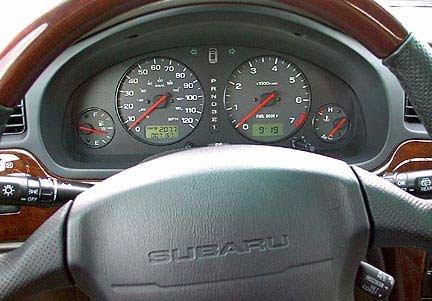 subaru outback 2000 interior