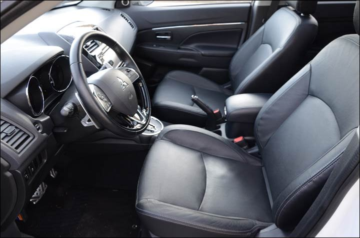 outlander front seats