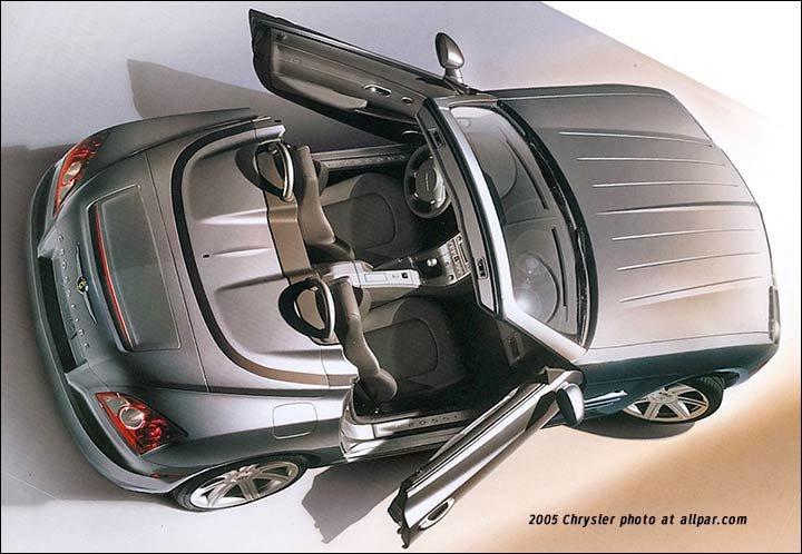 Chrysler Crossfire And Srt 6 The Retuned Mercedes Sl