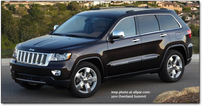 2011-2013 Jeep Grand Cherokee Features and Pricing