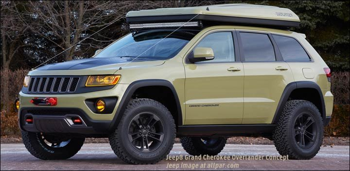 Moab 2015 Jeep Concepts From The Wagoneer Like Chief To