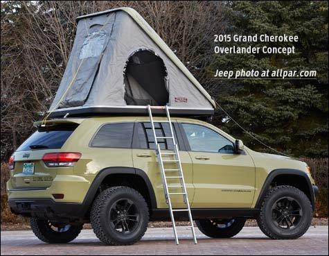 Overlander Tent on Jeep Grand Wagoneer Fender Flares