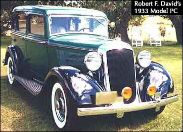 1933 Plymouth PC