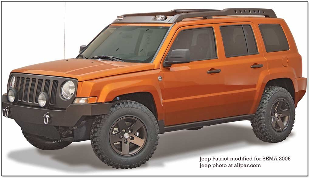 jeep patriot - SEMA modified