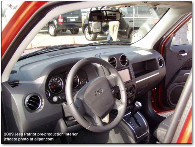 Jeep Patriot 3rd Row. patriot dashboard