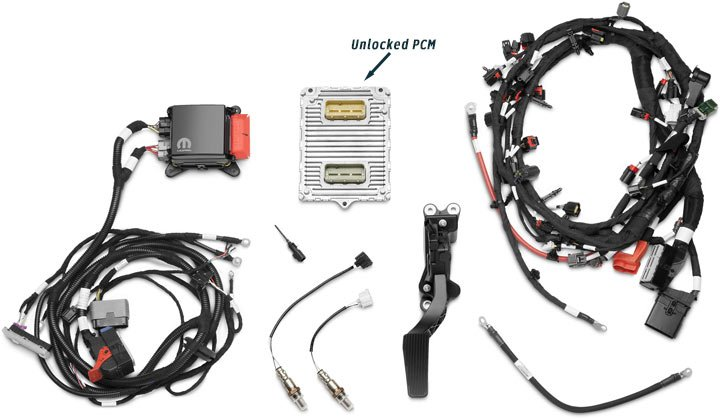 PCM and wiring kit