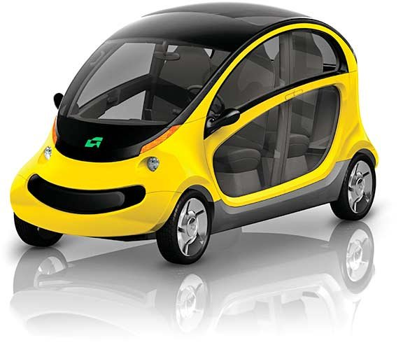 Gem peapod electric cars