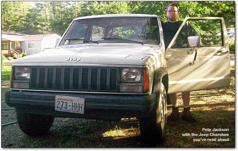 pete jackson's jeep cherokee