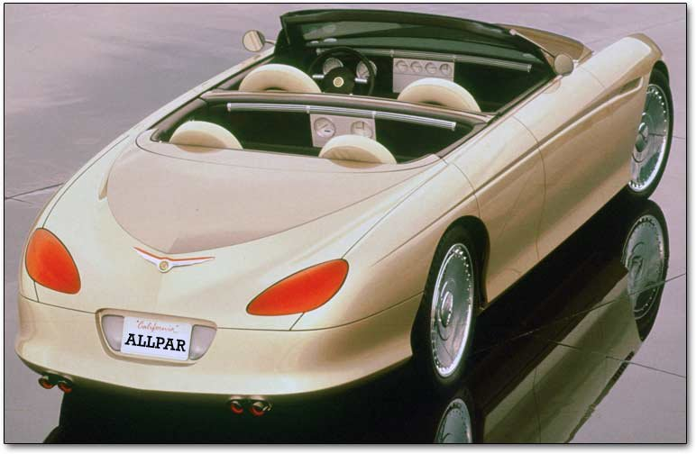 rear of the Chrysler Phaeton concept car