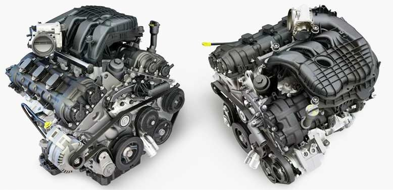 Pentastar V6 engines