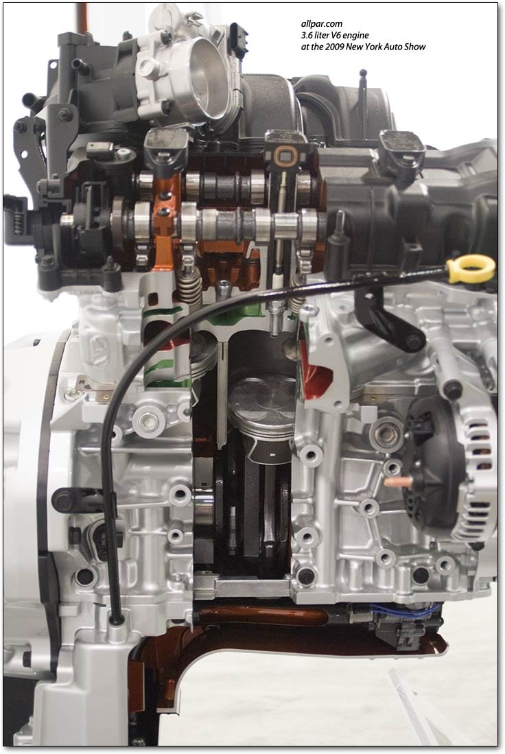 Chrysler phoenix V6 engine