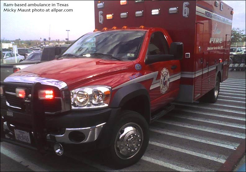 Summers Coach ambulances