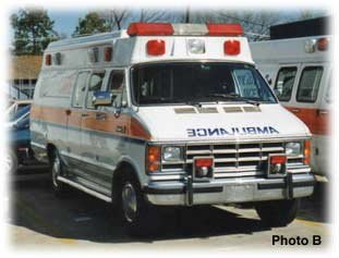 another Dodge ambulance
