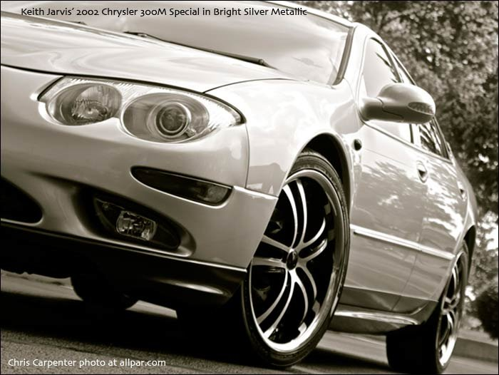 Jarvis' Bright Silver Metallic 2002 Chrysler 300M Special
