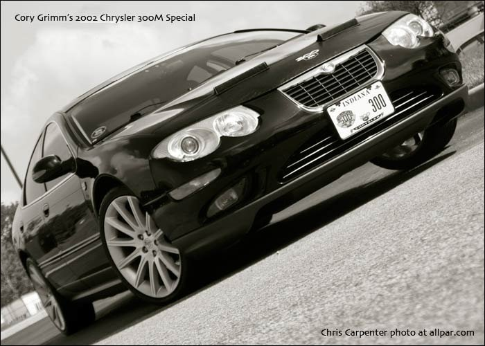Grimm's Brilliant Black Crystal Chrysler 300M Special