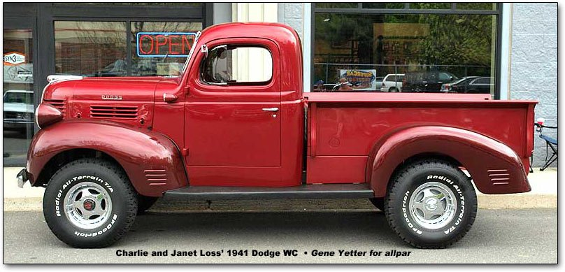 Car of the Month, August 2009: 1941 Dodge WC Pickup Truck
