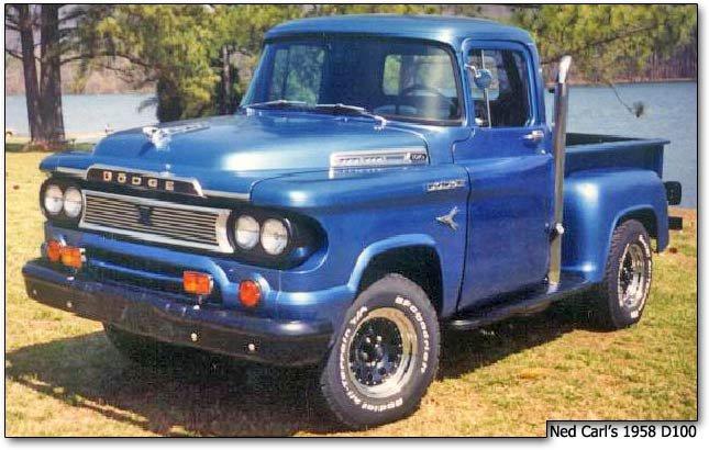 1958 Dodge D100 Restoration Story