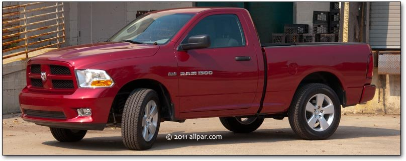 2011 Dodge Ram 1500 Express test drive