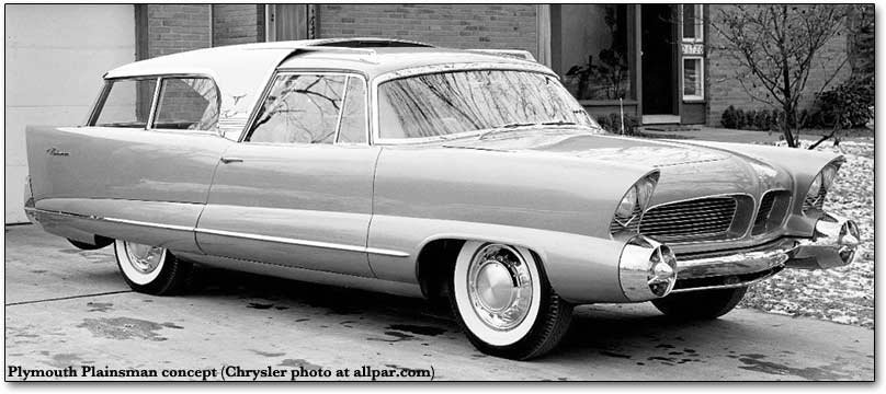 1954 Plymouth Plainsman wagon concept car