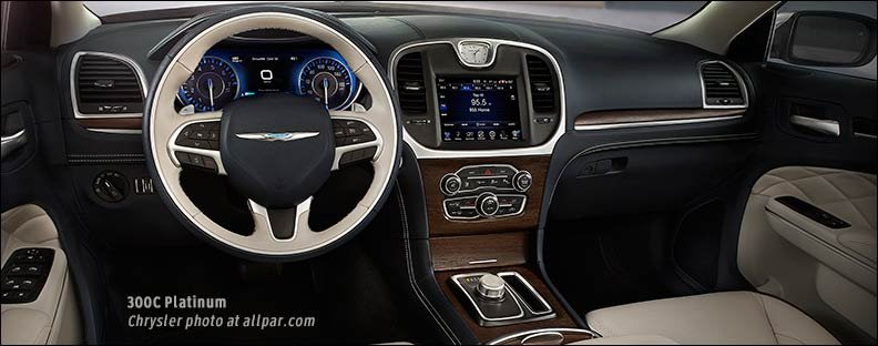 Chrysler 300C Platinum interior