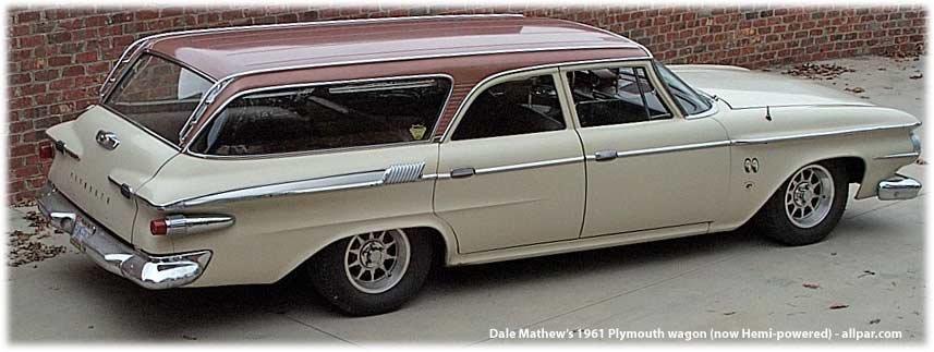 1961 Plymouth wagon