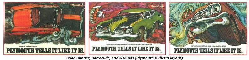 Plymouth ads
