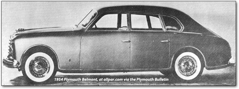 Plymouth Belmont concept car