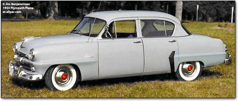 1953 Plymouth Plaza cars