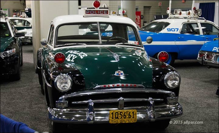 Dodge plymouth chrysler police car 1956 1978