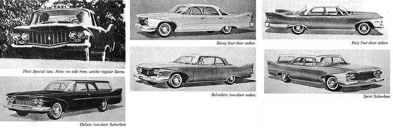 Plymouth Cars 1960 1965