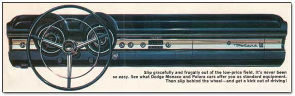 1966 dodge polara dashboard