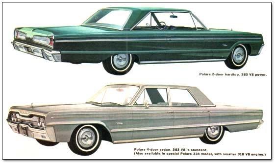 1966 Chrysler corporation cars