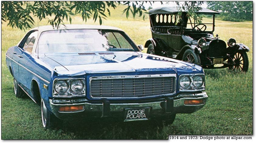 Dodge Polara - the luxury land yachts, from 1960 to 1973