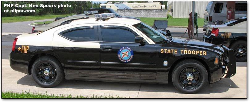 Florida Highway Patrol Dodge Charger police car