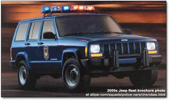 Jeep Cherokee Police Cars