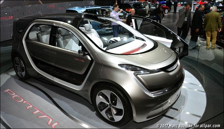 over the chrysler portal concept minivan