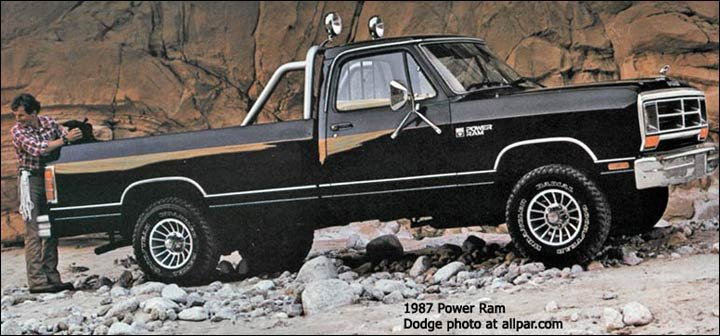 Ram dodge pickups 1981 93 soldiering on cummins powered
