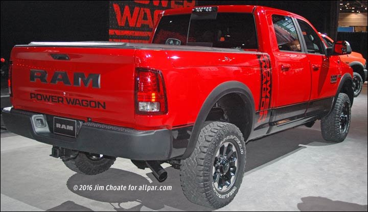 red power wagon