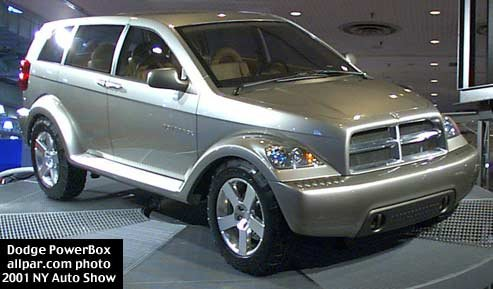 dodge powerbox concept car