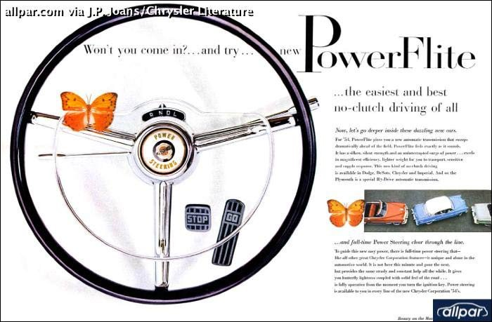 An Inside History Of Chrysler Part 2 1954 And Plymouth