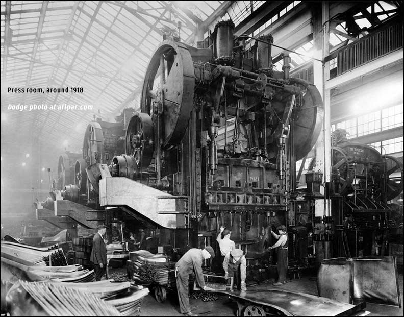 Inside The Dodge Main Plant 1910 To 1981