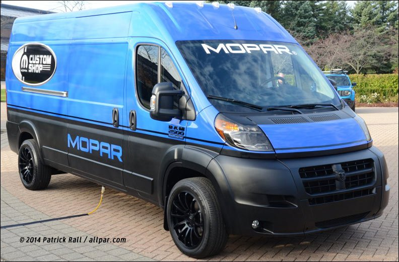 2014 jeep and ram concepts riptied promaster outdoorsman frostbite