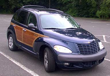 Front view - Chrysler PT Cruiser Woodie