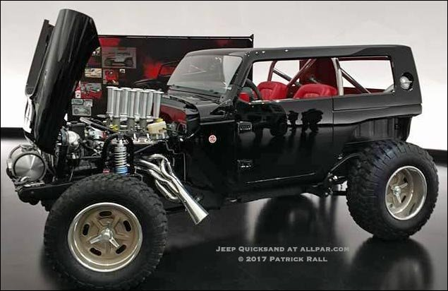 2017 Jeep Quicksand Concept Car Hot Rod With Videos