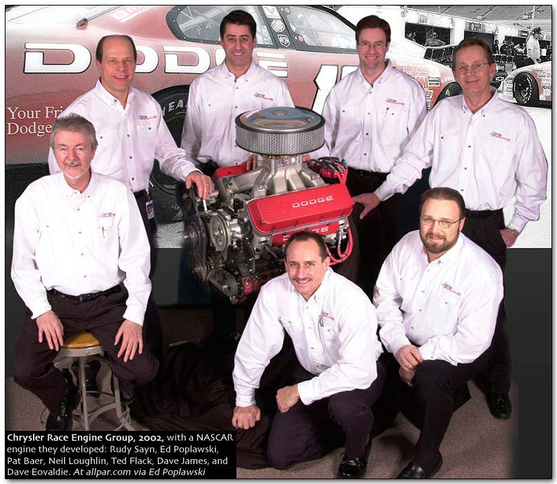 race engine group 2002
