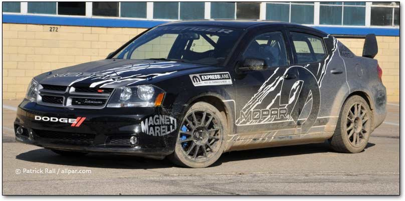 Dodge Avenger rally car 2011