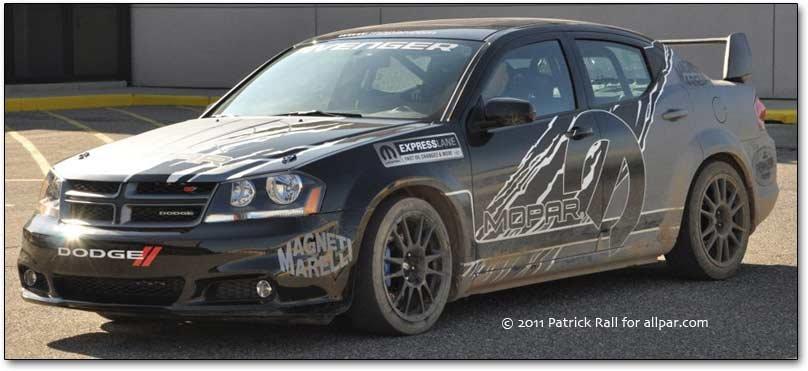 Dodge Avenger Rally Sedan 2011 Concept Car