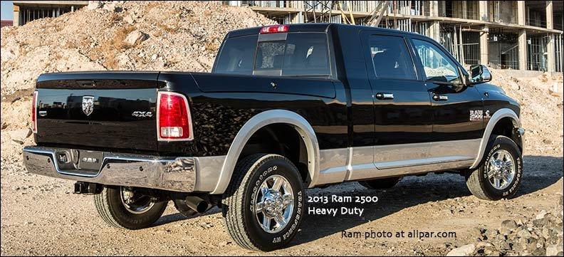 2013 ram heavy duty pickup trucks ram 2500 and 3500. Black Bedroom Furniture Sets. Home Design Ideas